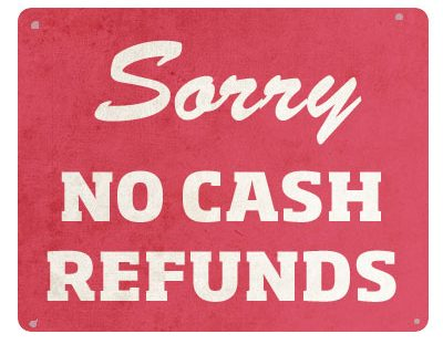 Cash refunds for online selling b2b