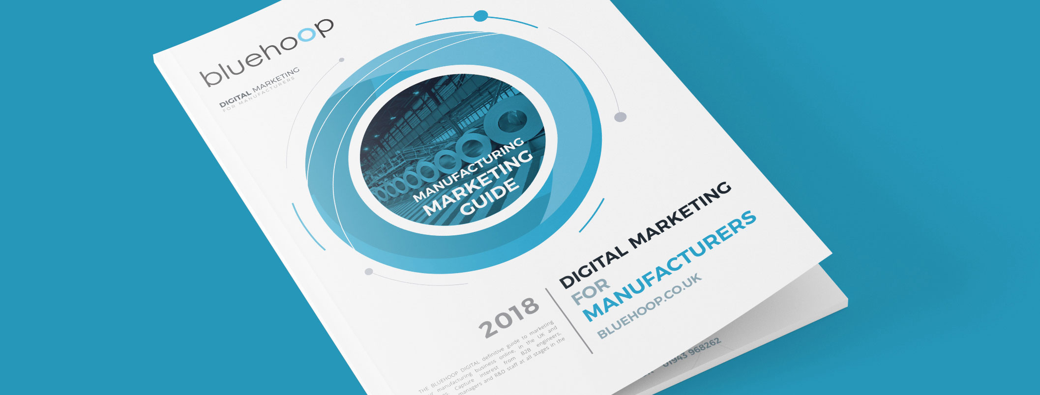 Marketing in 2018 for Manufacturing Businesses Cover