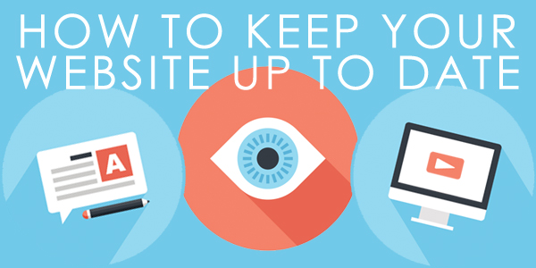 Keeping your website up to date