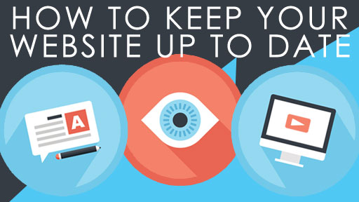 how to keep your website up to date