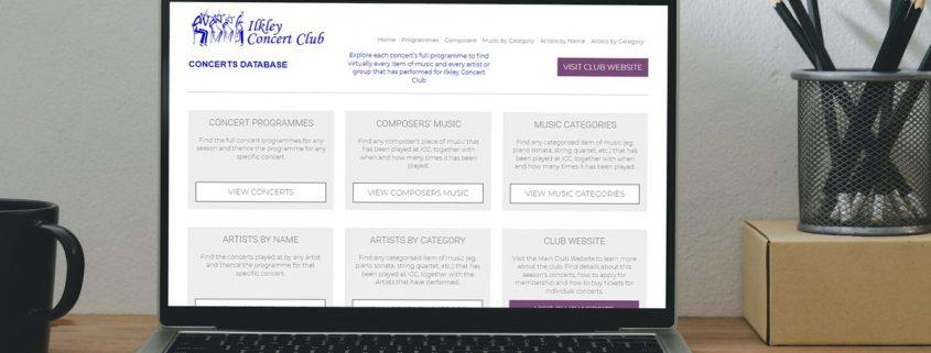 Online Music Database