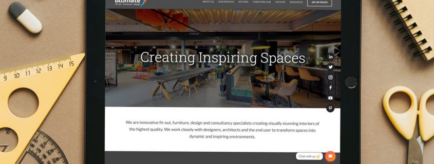 Website Design for Office Fit-Out Business